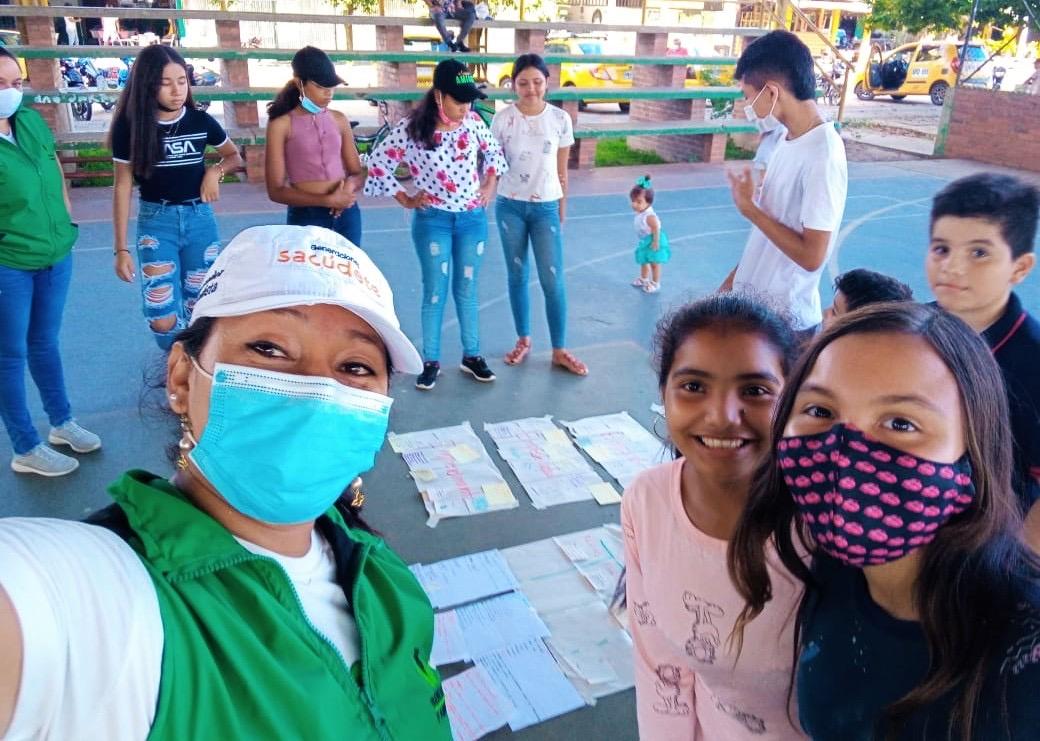 Con Sacúdete el ICBF le apuesta al fortalecimiento de proyectos de vida de adolescentes y jóvenes en Casanare