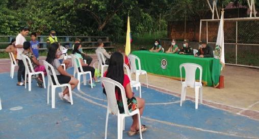 ICBF realiza acciones de prevención de la violencia  basadas en género en Amazonas
