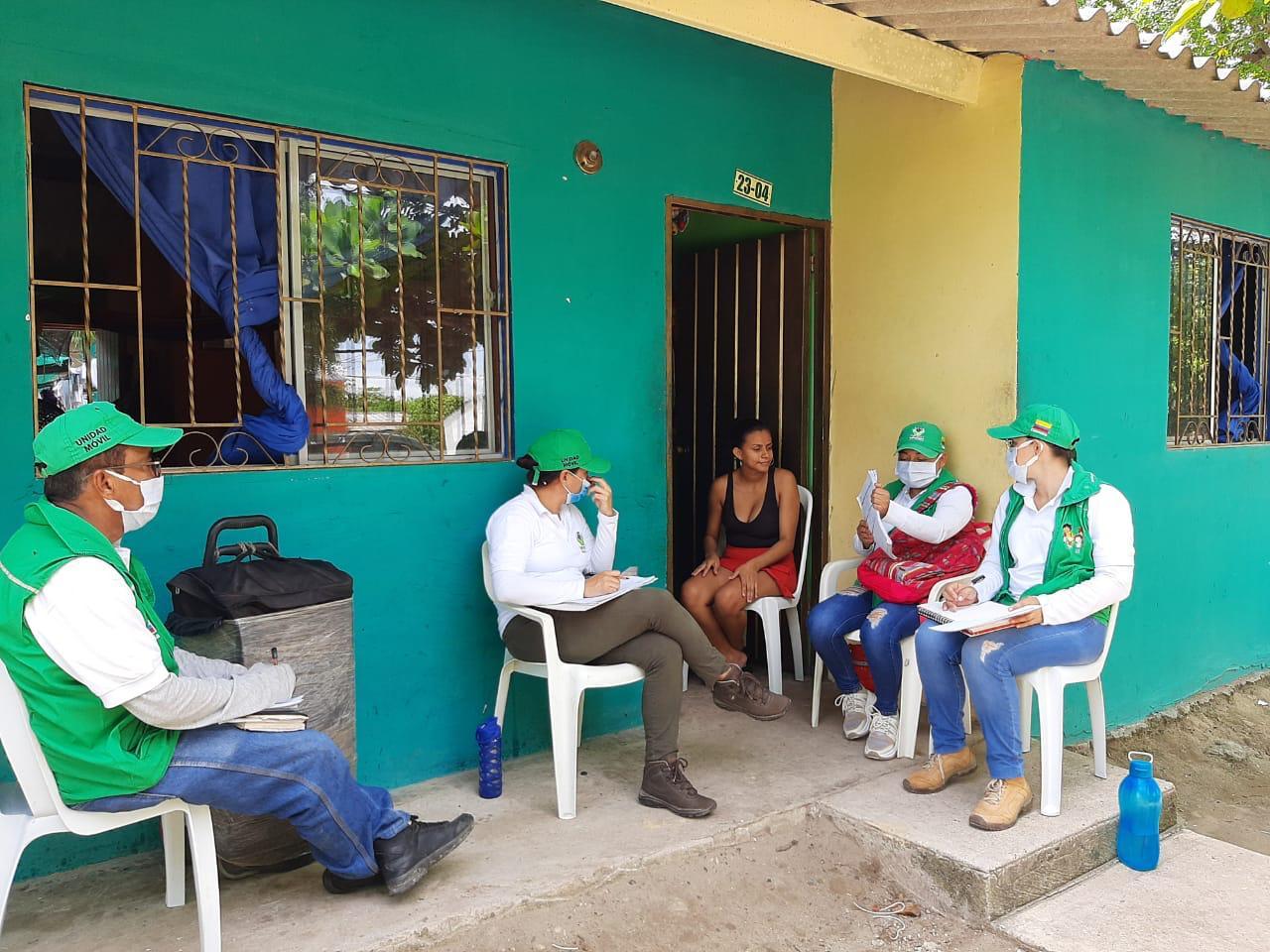 ICBF brinda atención psicosocial a familias ubicadas en municipios PDET de Sucre