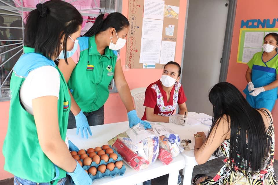 13.360 canastas nutricionales reforzadas a niñez en Putumayo
