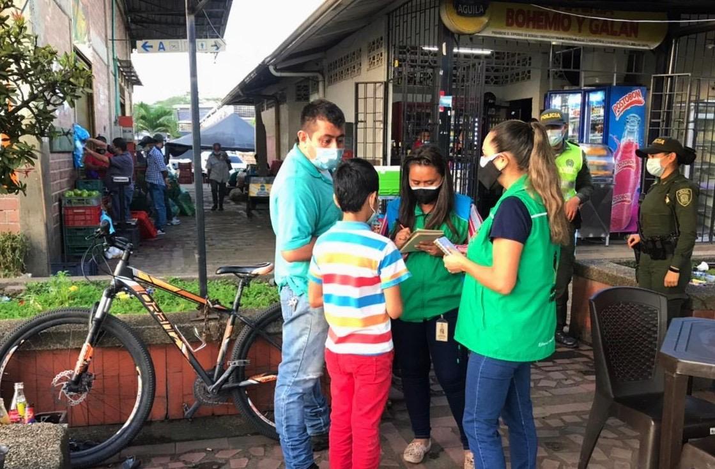 ICBF intensifica búsqueda de niños, niñas y adolescentes en plazas de mercado de Villavicencio