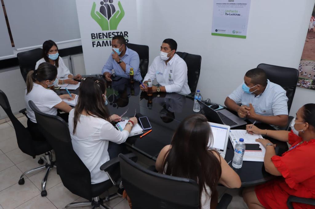 ICBF articula acciones para fortalecer atención de la primera infancia de La Guajira