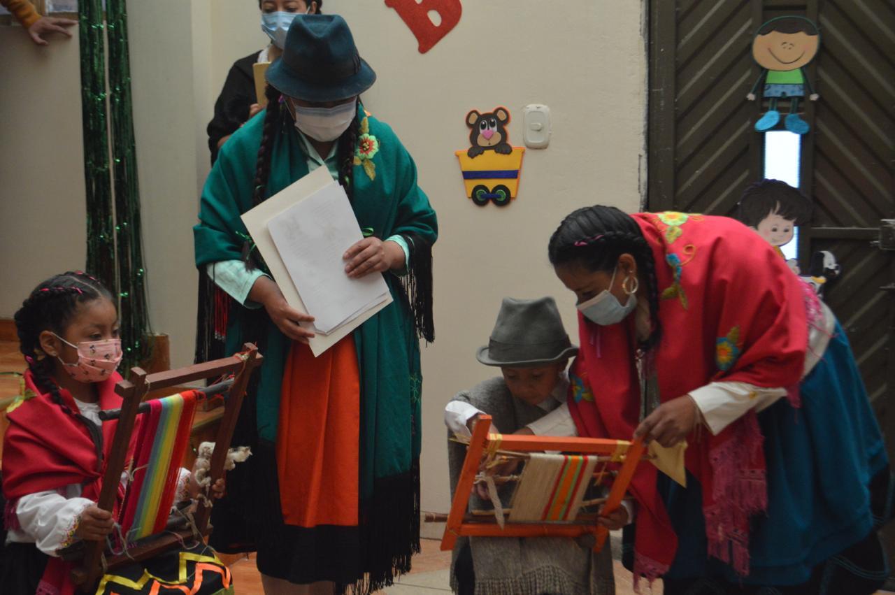 Niñas y niños indígenas de Los Pastos atendidos por ICBF refuerzan su identidad