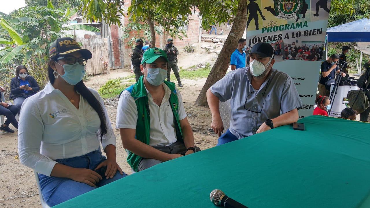 ICBF en Sucre se vincula a la campaña _Amarse antes que armarse_ de la Policía Nacional