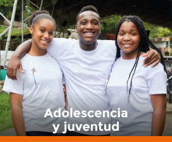 imagen con enlace a sección Adolescencia y Juventud