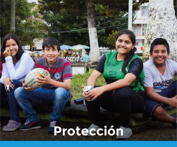 imagen con enlace a sección de Protección
