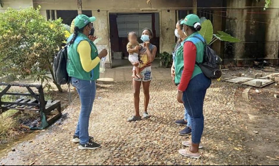 ICBF llega a Necoclí para brindar acompañamiento a la niñez migrante