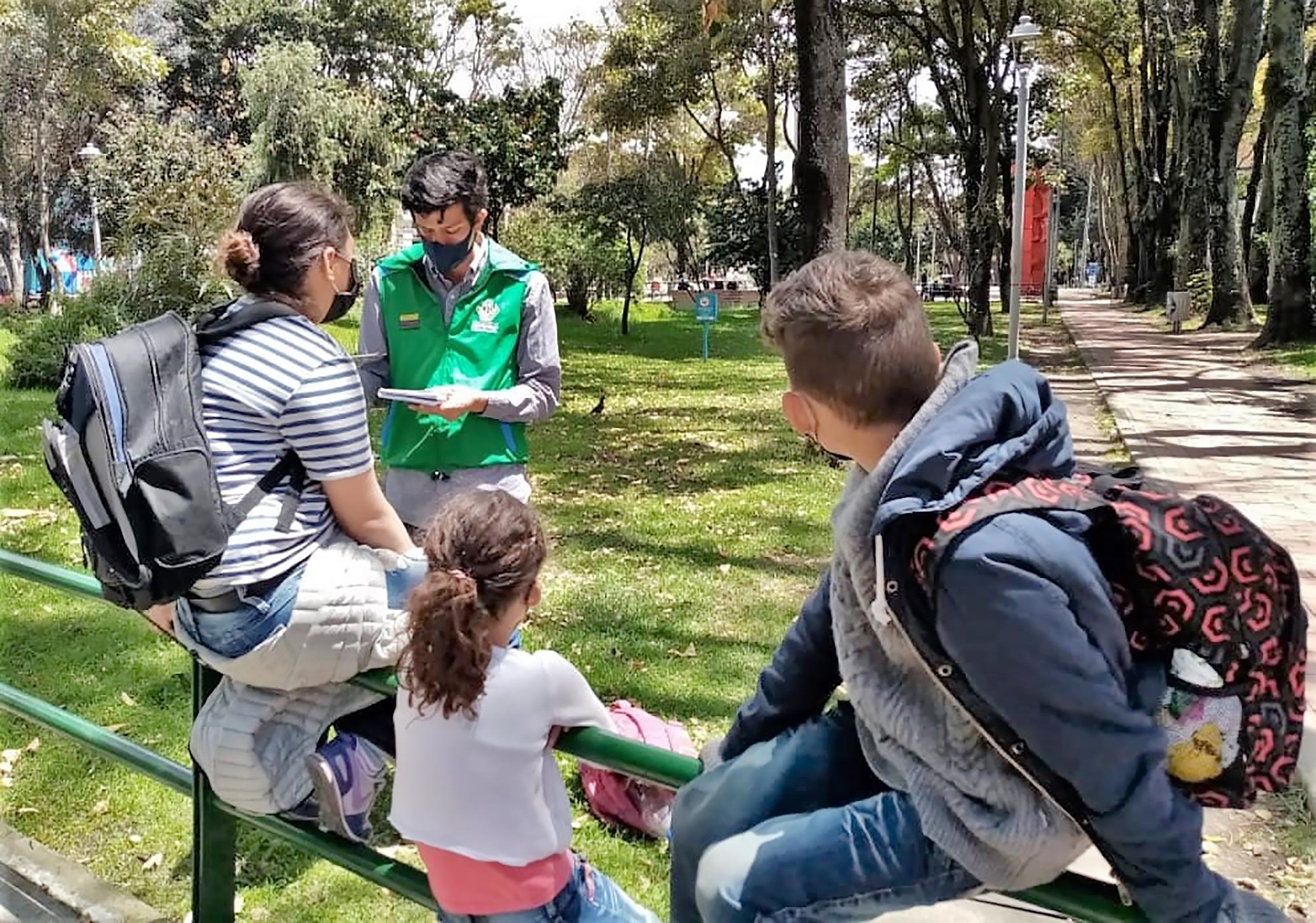 ICBF brinda atención integral a niñas, niños y adolescentes en situación de vida en calle en Bogotá