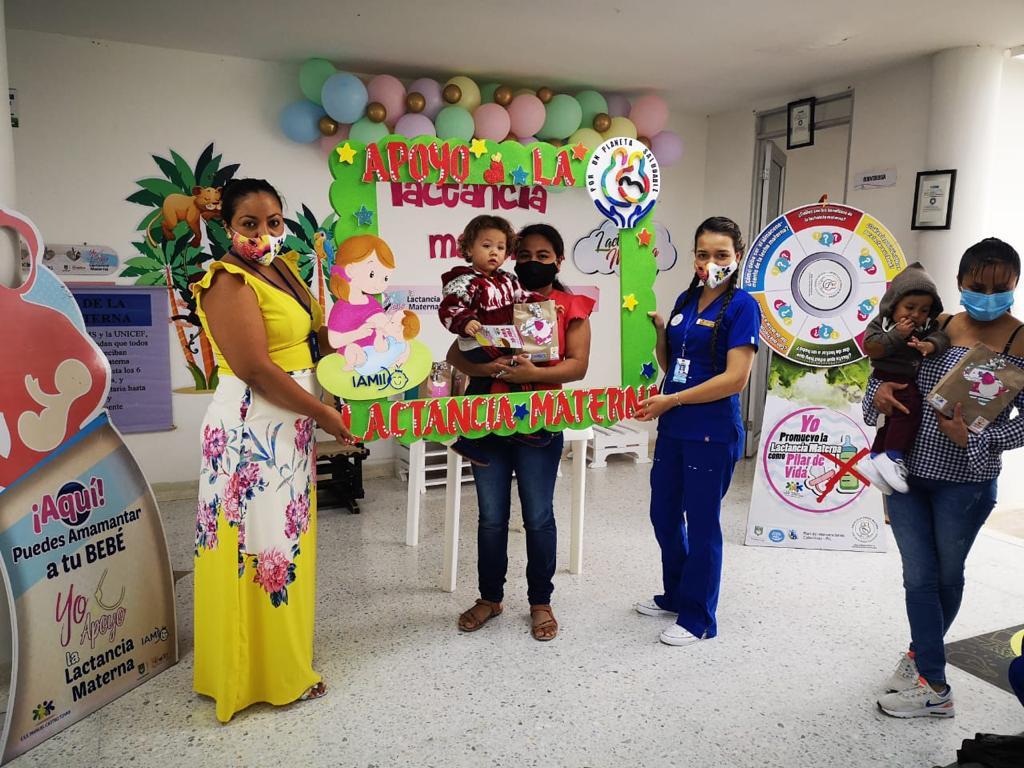 Con actividades educativas y artísticas, ICBF promueve la lactancia materna en el Huila