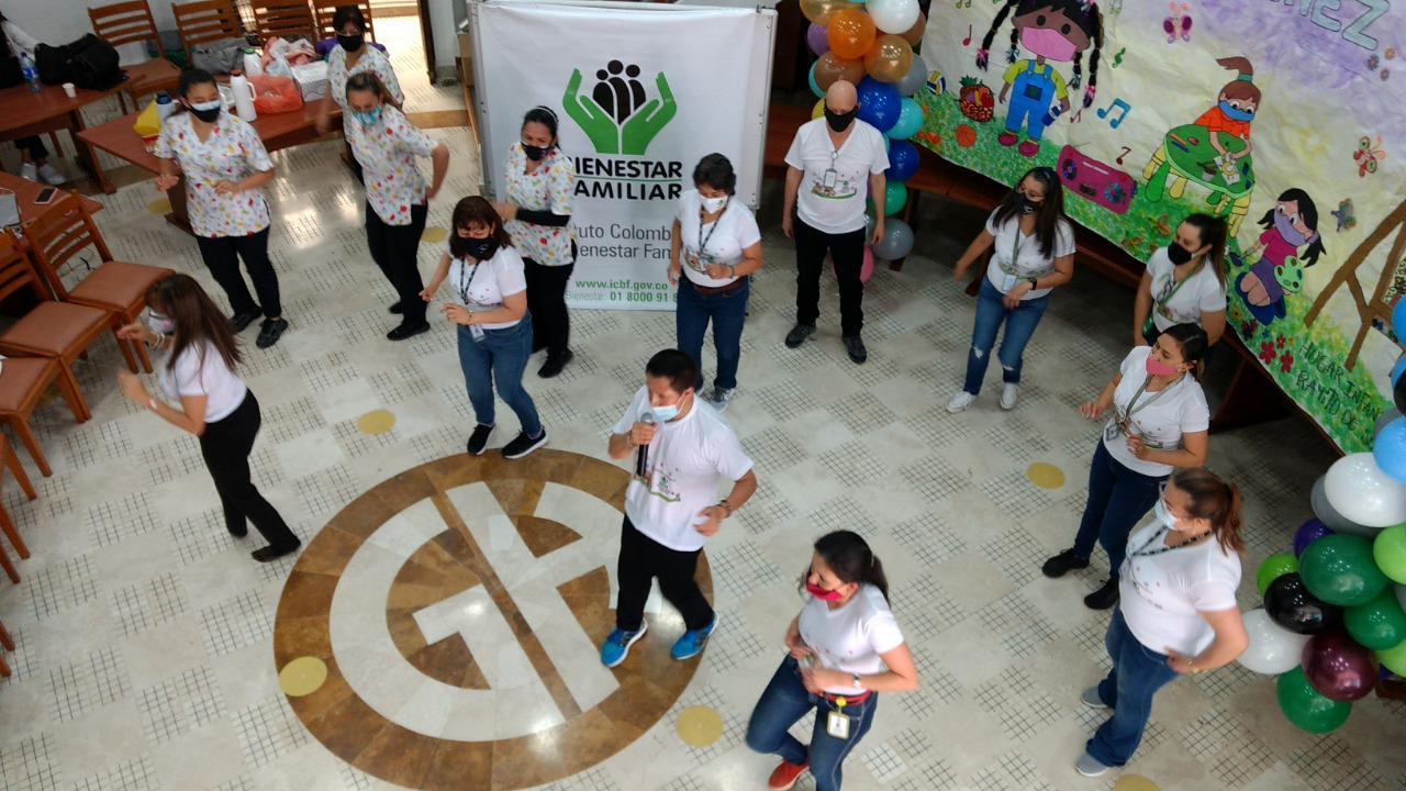 ICBF fomenta estilos de vida saludable entre las familias beneficiarias en Bogotá