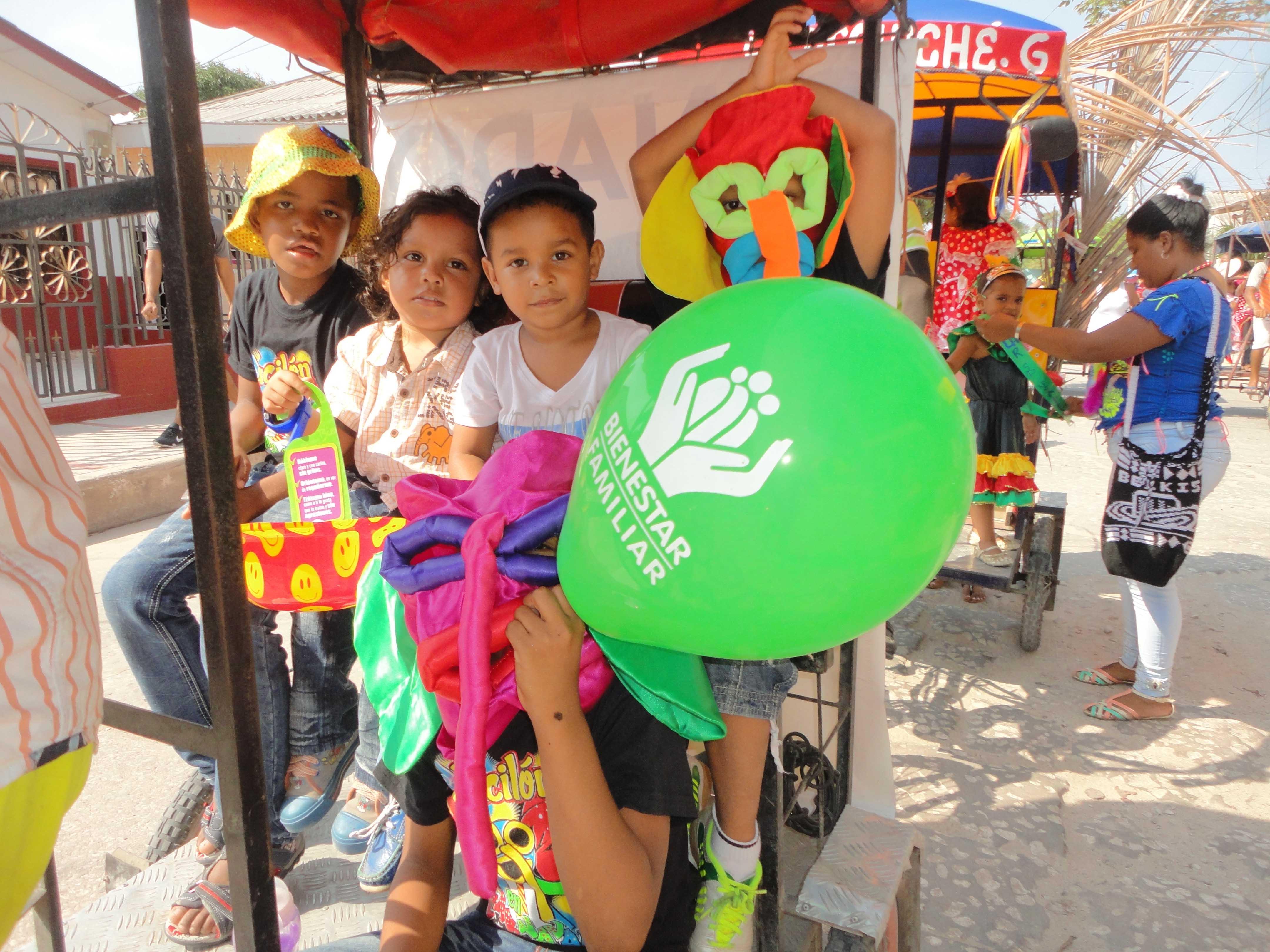 Recomendaciones para la protección de niños, niñas y adolescentes en carnavales