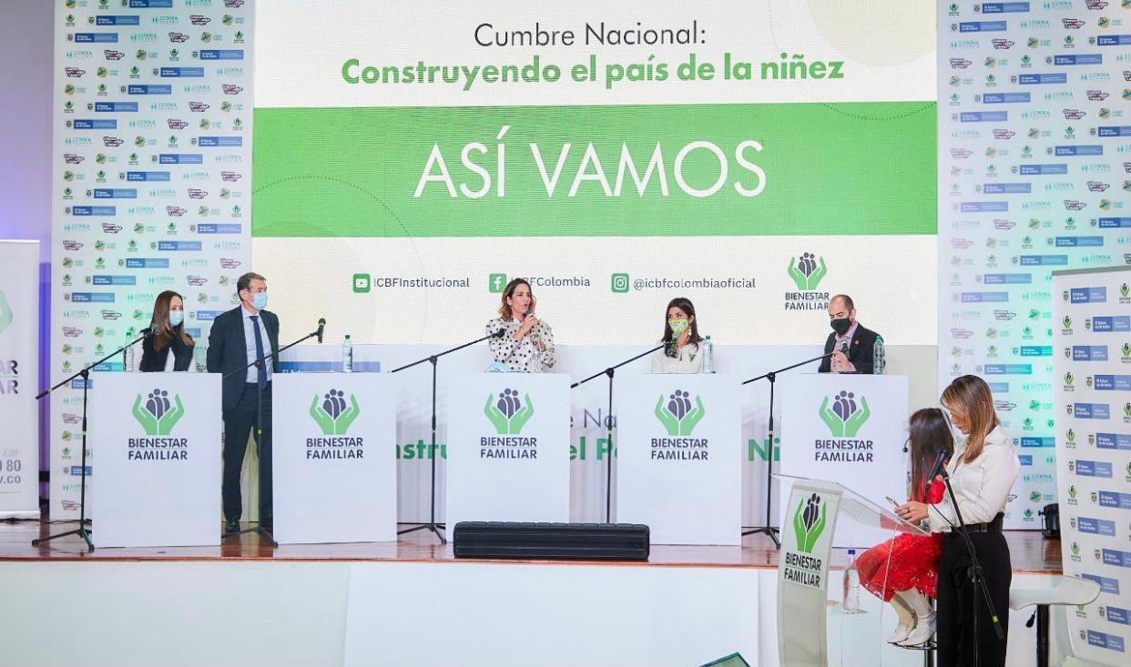 Gobierno Nacional rinde homenaje a la niñez colombiana