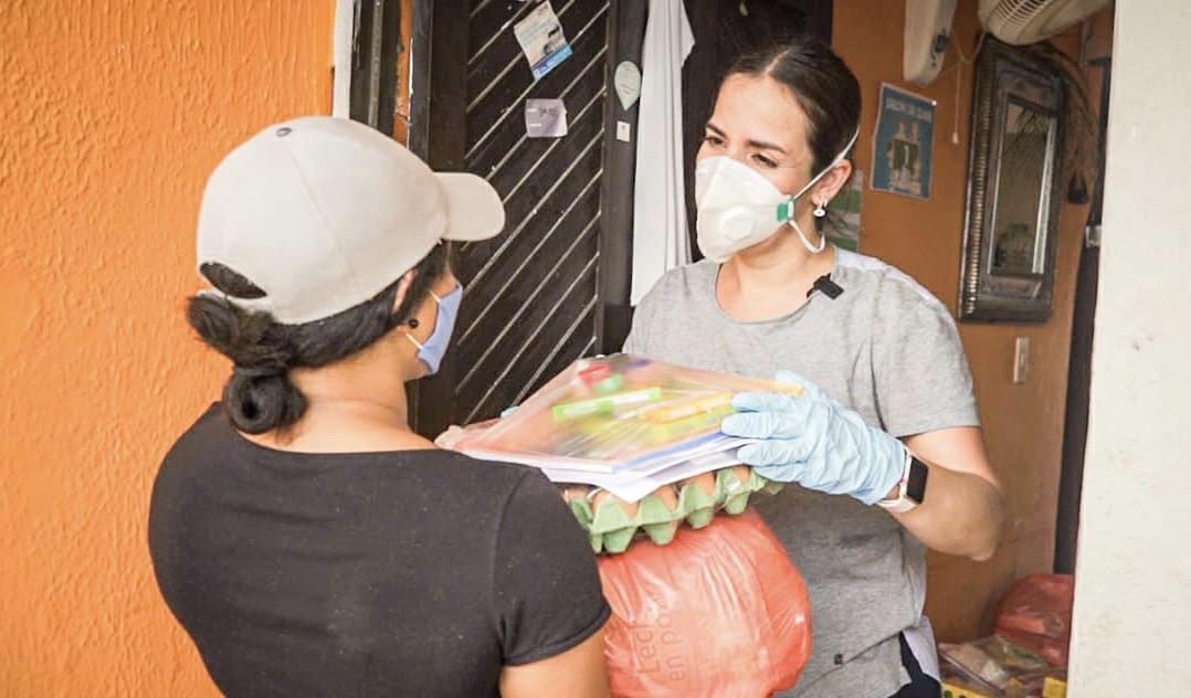 Hasta San Andrés Islas llegaron Primera Dama y Directora del ICBF a entregar canastas nutricionales