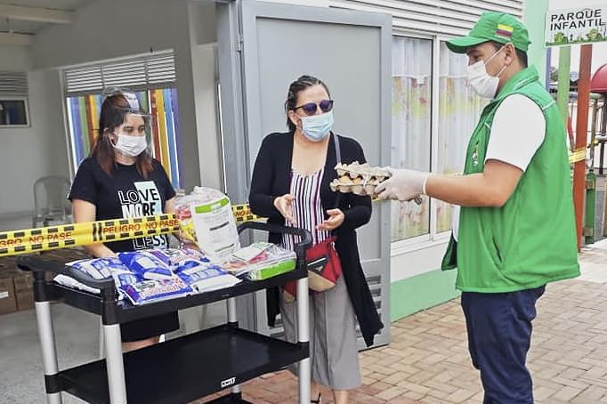 ICBF avanza con la entrega de más de 42.000 canastas alimenticias y kits pedagógicos en el Huila