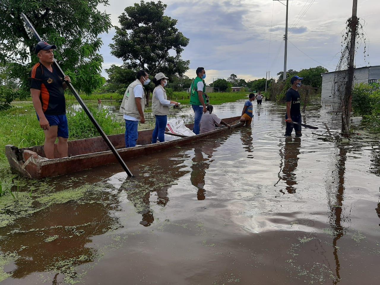 ICBF atiende a 275 familias damnificadas por las lluvias en Arauca