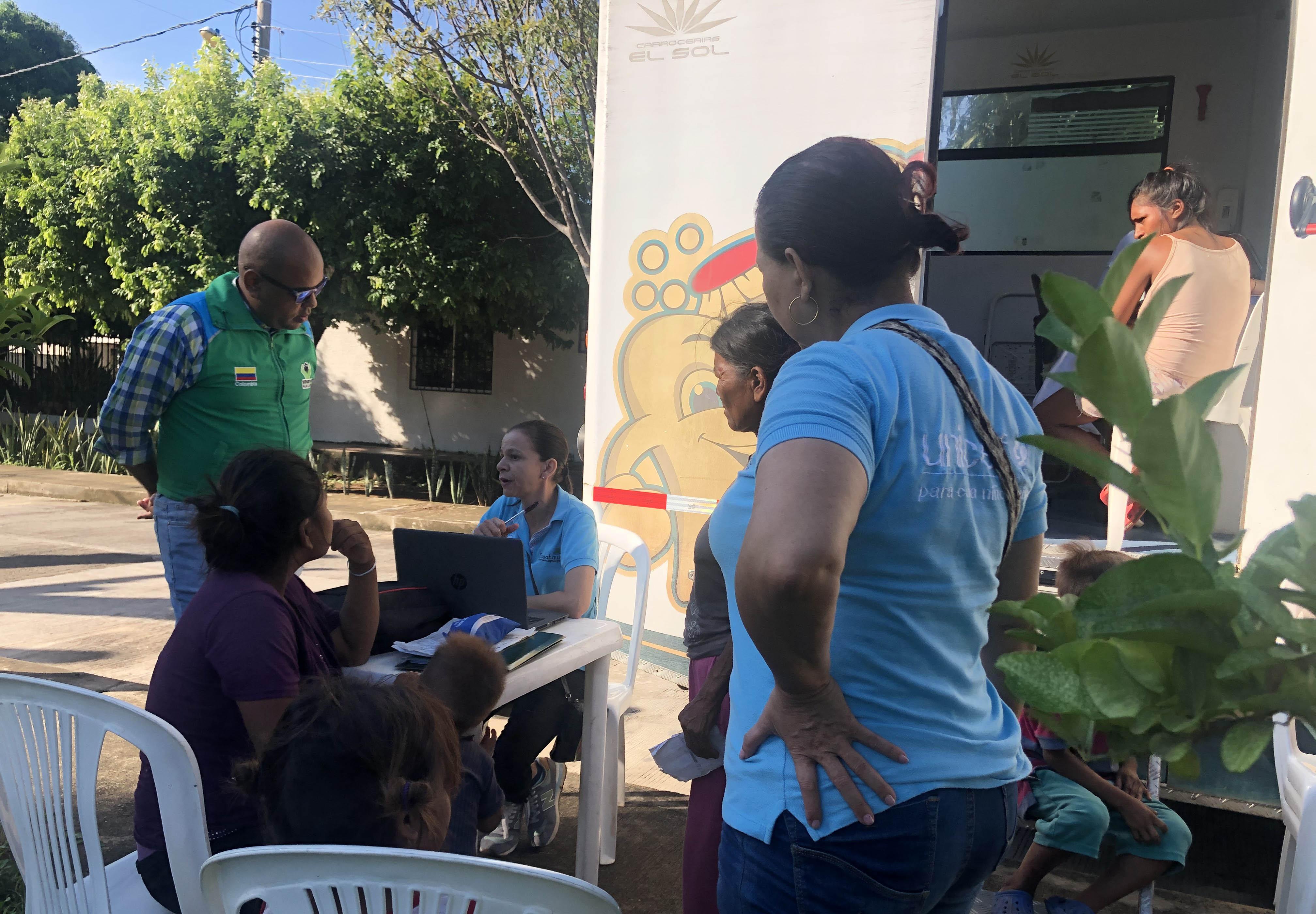 ICBF participa en jornadas de atención a niñez migrante venezolana