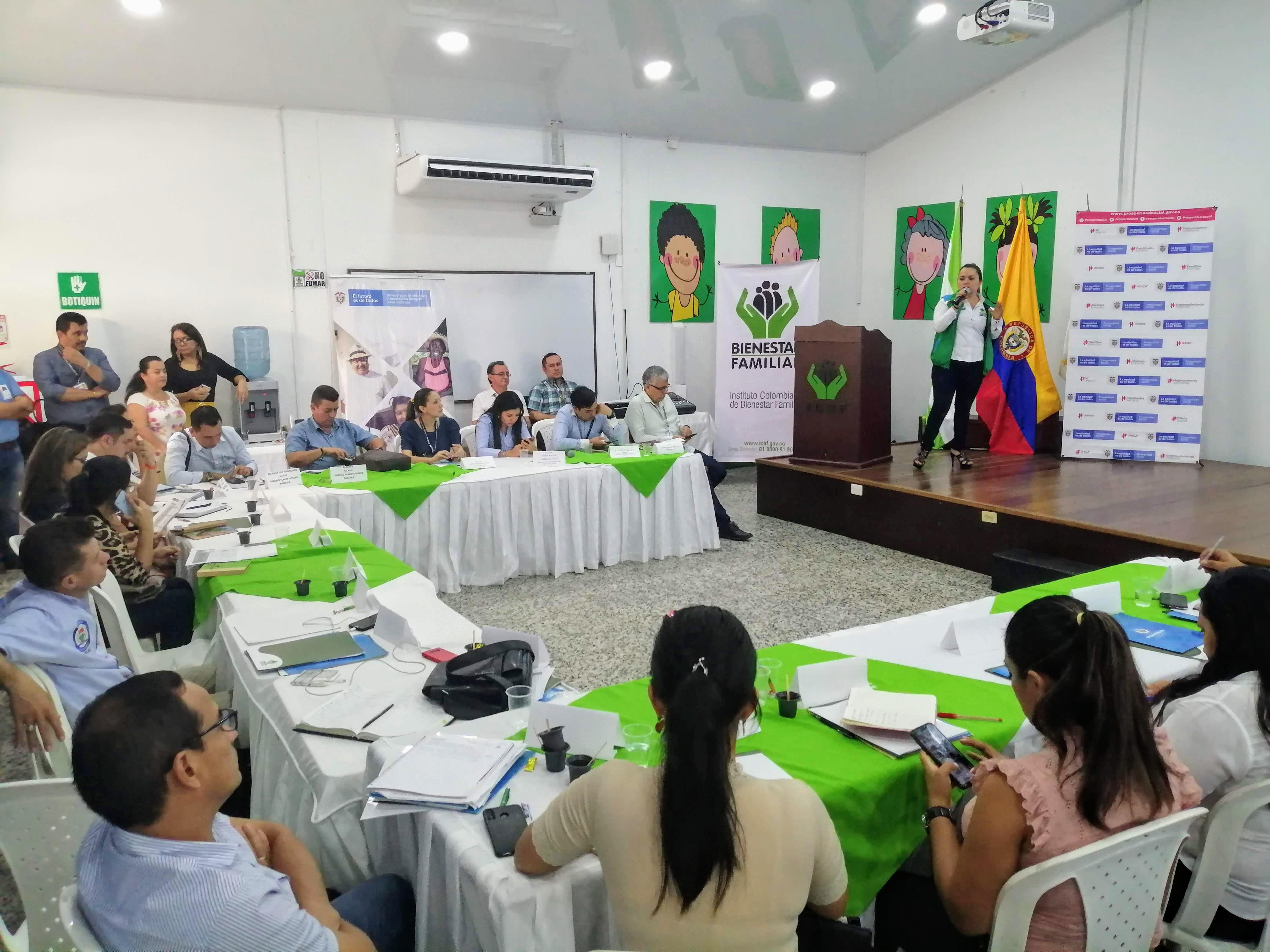 ICBF promueve derechos de niños y adolescentes con nuevos mandatarios de Caquetá