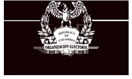 Logo Registraduría