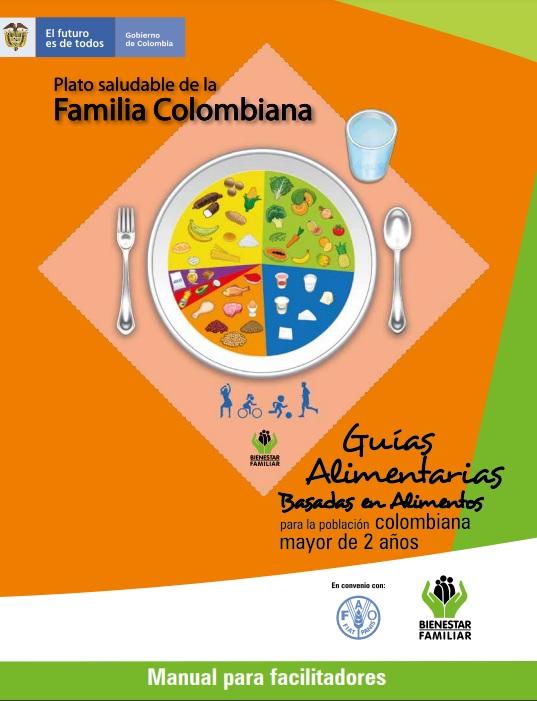 Guías Alimentarias Basadas en Alimentos para la Población Colombiana Mayor de 2 Años