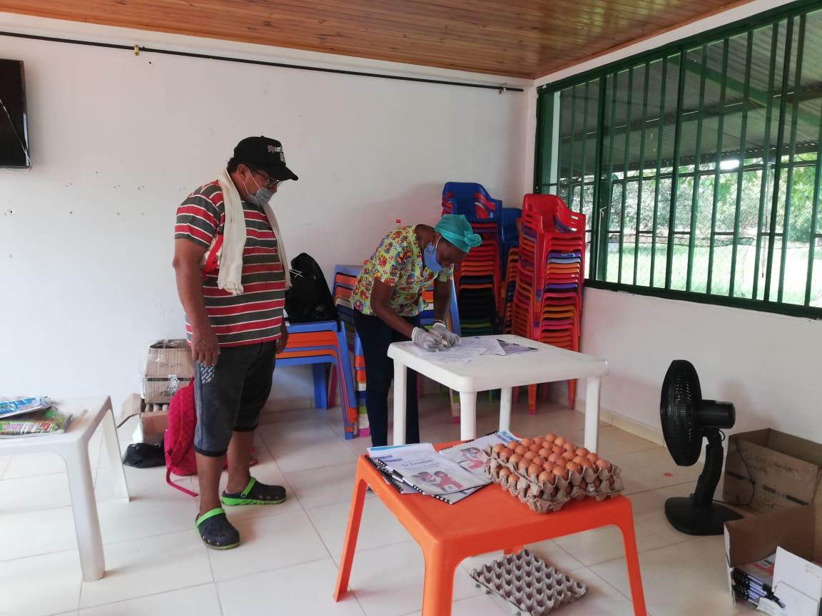 ICBF llevó 2.134 canastas alimentarias a familias de usuarios de primera infancia en Vichada