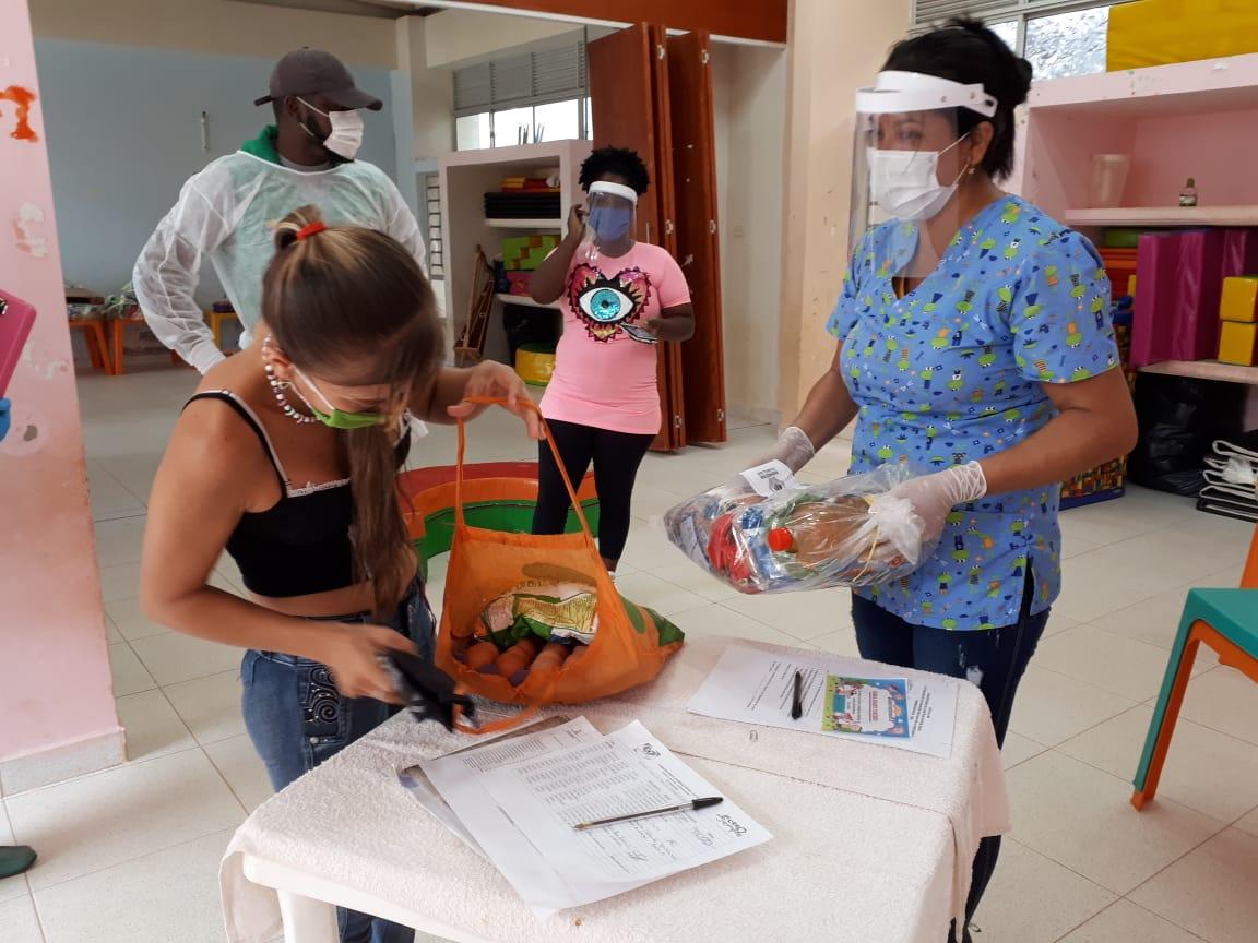 Usuarios de primera infancia en Vichada siguen recibiendo el componente nutricional de manos del ICBF
