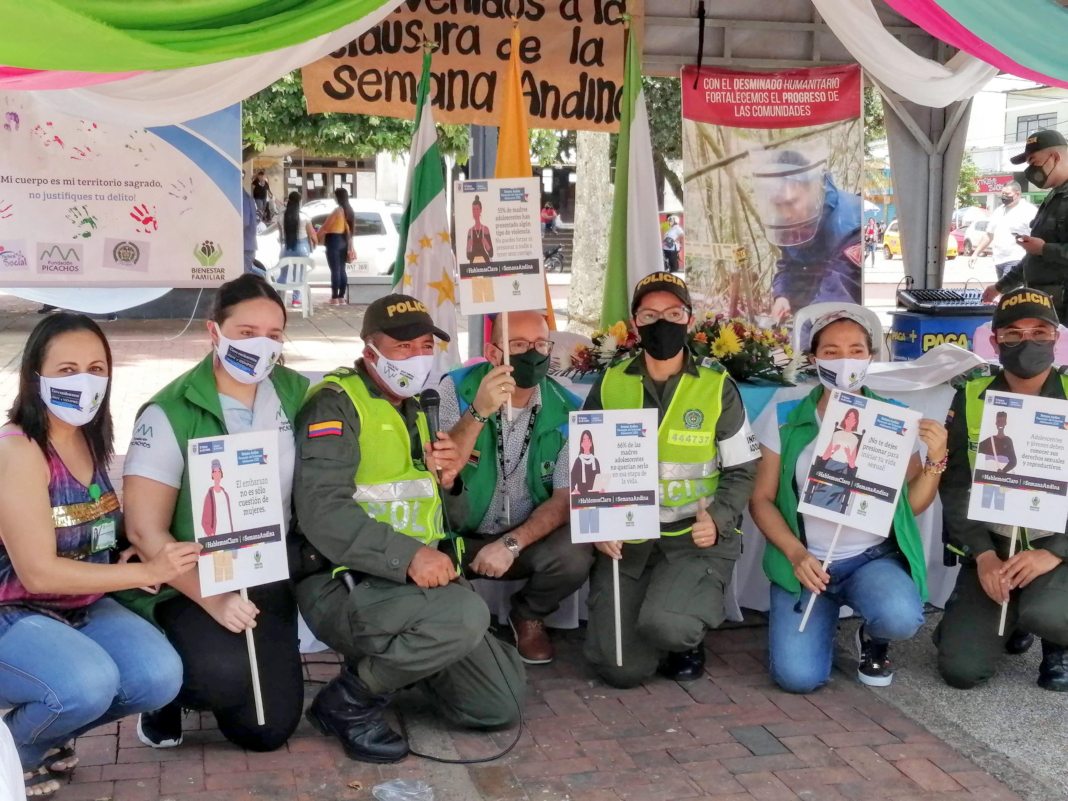ICBF fortalece la prevención del embarazo adolescente en Caquetá