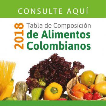 TABLA DE ALIMENTOS TCAC 2018