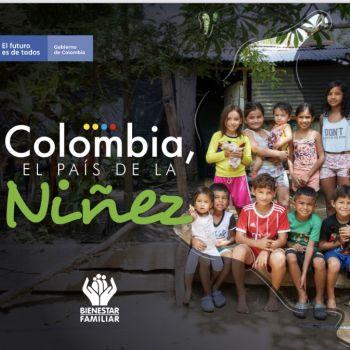 Colombia el país de la niñez