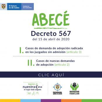 Decreto 567 del 15 de abril de 2020