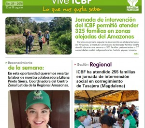 Boletín Vive ICBF No. 29