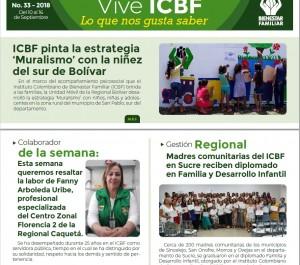 Boletín Vive ICBF No. 33