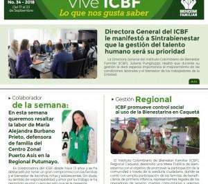 Boletín Vive ICBF No. 34