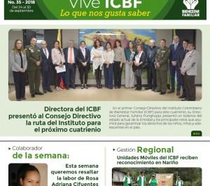 Boletín Vive ICBF No. 35