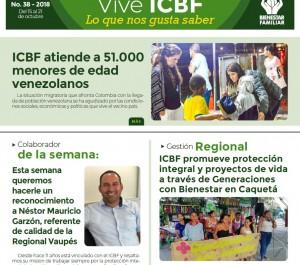 Boletín Vive ICBF No. 38