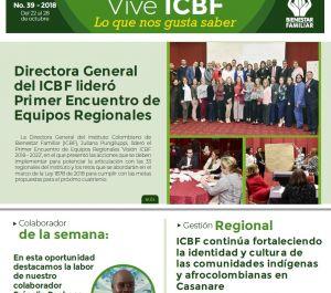 Boletín Vive ICBF No. 39