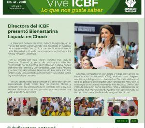 Boletín Vive ICBF No. 41