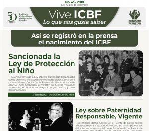 Vive ICBF No. 45
