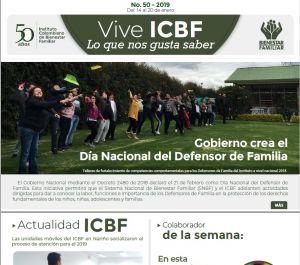 Vive ICBF No. 50