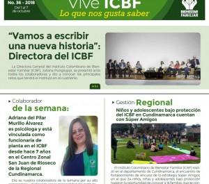 Boletín Vive ICBF No. 36