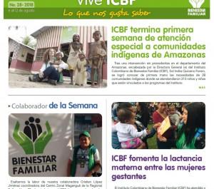 Boletín Vive ICBF No. 28