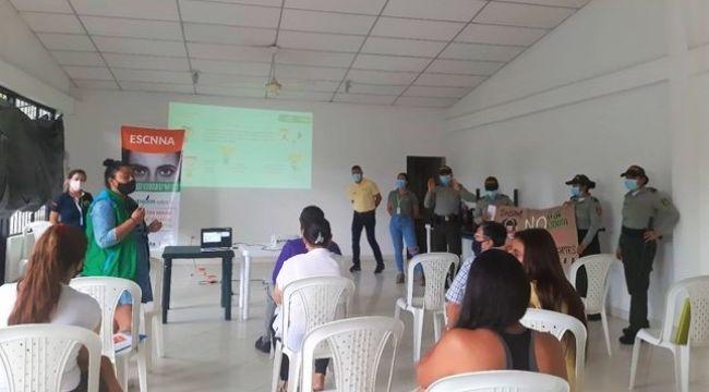 ICBF articula esfuerzos para prevenir la explotación sexual comercial de niños y adolescentes en Villavicencio
