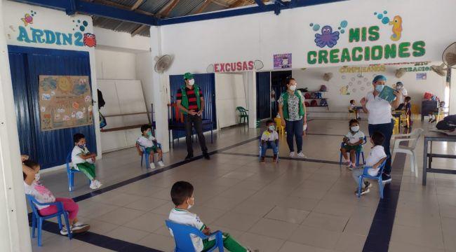 Unidades de servicio del ICBF abren sus puertas para atender a la primera infancia en Sucre