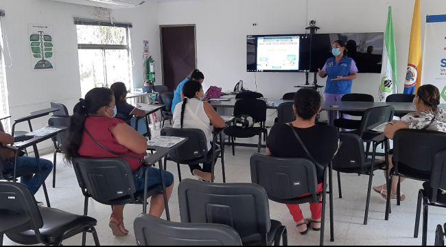 ICBF capacita a madres sustitutas sobre la atención de niñez en condición de discapacidad en Guainía