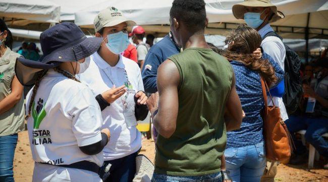 ICBF ha atendido 1.300 niños y niñas migrantes en Necoclí, Antioquia