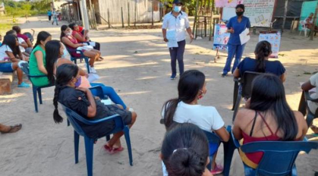 ICBF en Guainía realiza actividades potenciadoras de cuidado y crianza a 1.750 beneficiarios de primera infancia