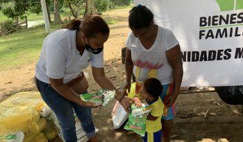 ICBF atiende a familias damnificadas por lluvias en Chocó