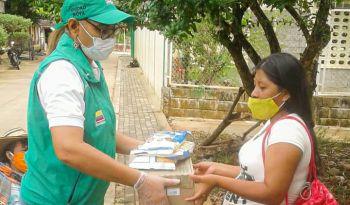 ICBF ha llevado más de 30 mil unidades de Bienestarina a familias vulnerables en Córdoba