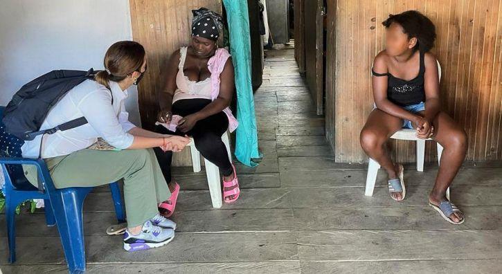 Directora del ICBF acompañó a la familia de niña asesinada en Guapi, Cauca