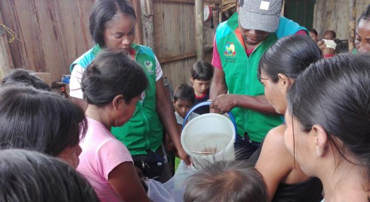 10 mil personas en Chocó, Bolívar y Sucre ya cuentan con agua limpia gracias al ICBF y P&G