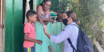 Directora Del ICBF acompañó a la Familia de la niña asesinada en Guapi, Cauca